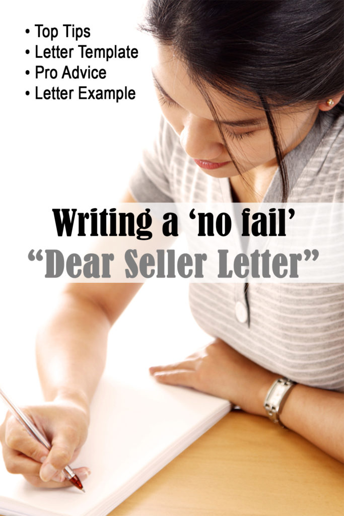 Writing an offer letter to the seller