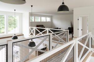 Farmhouse style railing