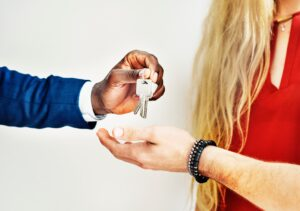 Getting the keys to your new home