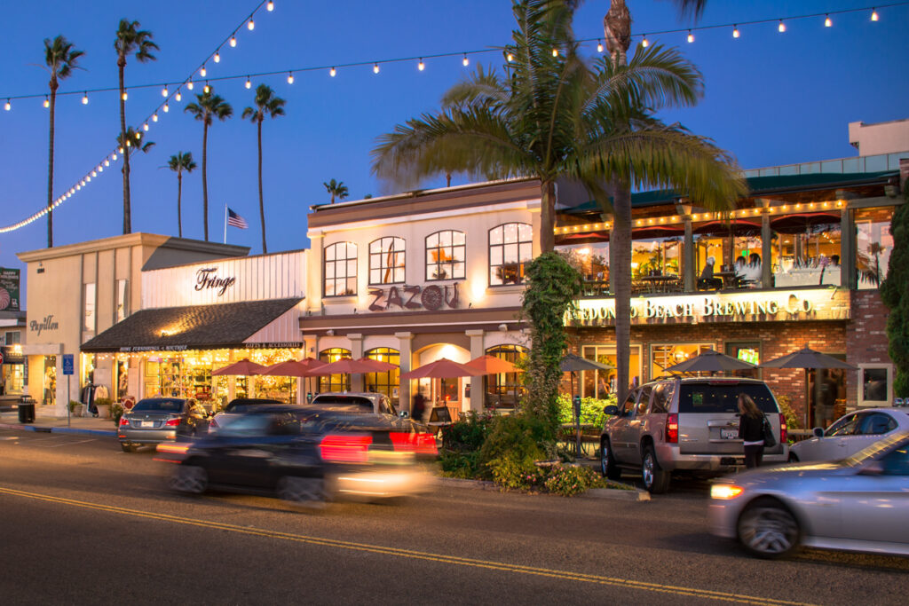 Shops in the Hollywood Riviera