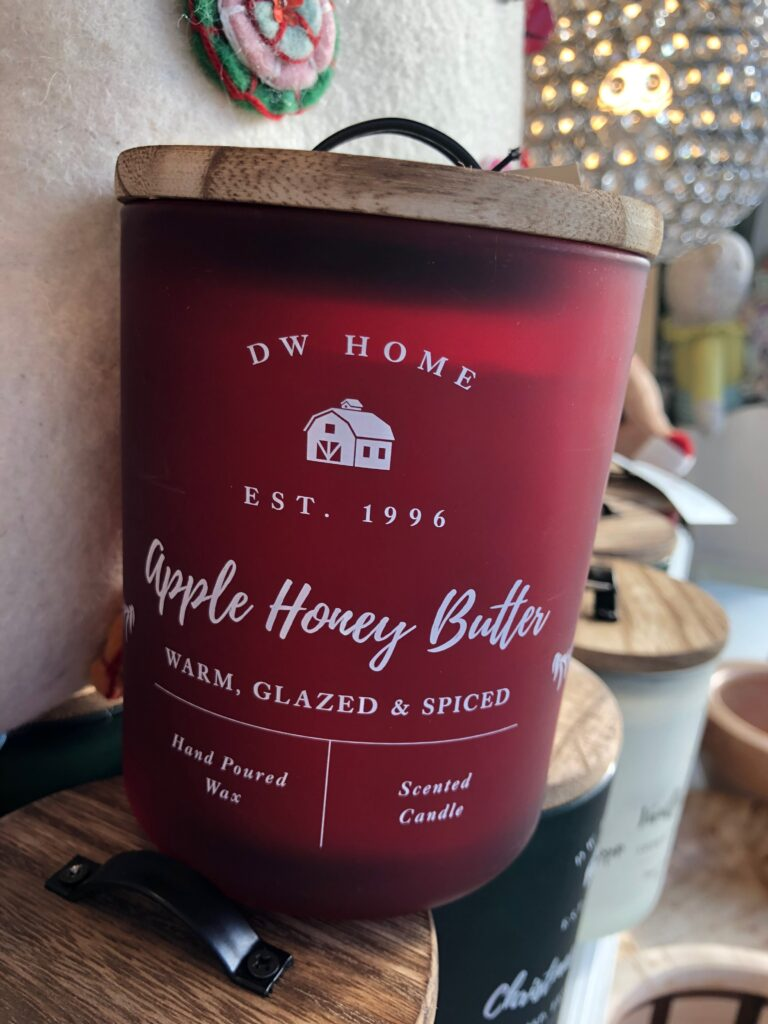 Apple Scented Fall Candle