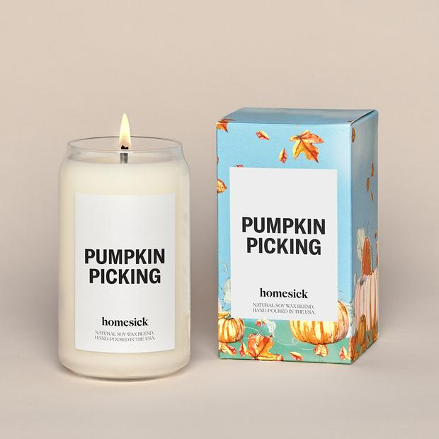 Pumpkin scented Autumn Soy Candle