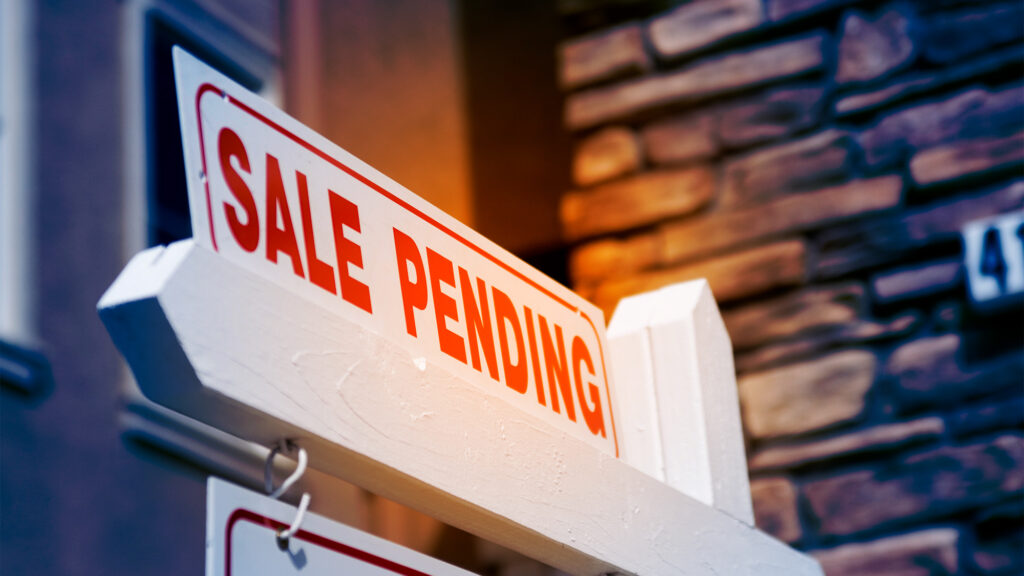 Act quickly to buy in a seller's market
